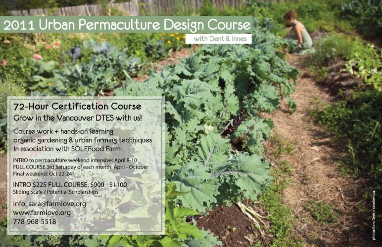 Vancouver Urban Permaculture Design Course
